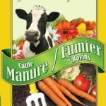 Cattle Manure -- new