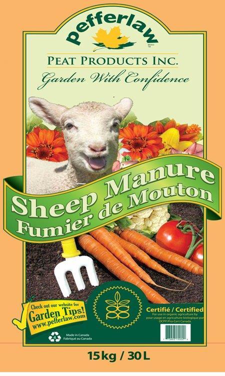 Sheep Manure -- new